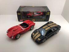 LOT of 3 - 1/18 Diecast Lamborghini Ferrari Caterham Bburago Anson Maisto