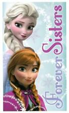 Disney Frozen Forever Sisters 100% Cotton Beach Bath Holiday Girls Kids Towel