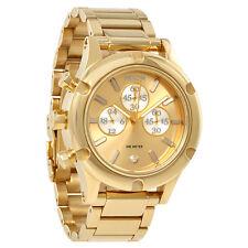 Nixon Camden Chronograph Gold Dial Ladies Watch A354-1219