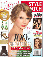 People Style Watch December 2012 January 2013 Taylor Swift