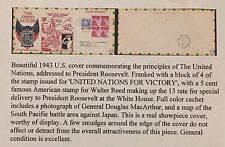 US Stamps, Cover To President F. D. Roosevelt. A Great Cover For An Exhibitor