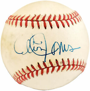 Cleon Jones Autographed Signed Feeney NL Baseball New York Mets Beckett Y93169