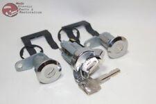 76-78 Mustang Ford Igntion Door Lock Cylinders OEM Keys New