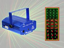 Proiettore laser luce stroboscopica a puntini verde e rosso strobo dj discoteca