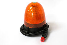 LED Beacon 12-24V Amber Magnetic Rotating Flashing Safety Light NEW LOW PRICE !