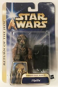 J'QUILLE Jabba's Sail Barge SAGA Collection Star Wars Figure ROTJ