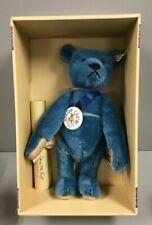 Steiff Club 1994 Replica of 1908 Blau Teddybar 35cm Blue Teddy Bear 420047