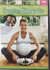 PRENATAL FITNESS FIX DVD BRAND NEW FACTORY SEALED