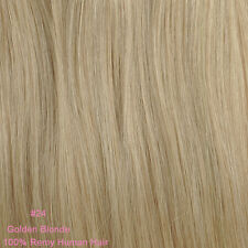 Deluxe THICK one piece clip in 100% remy real human hair extensions & Highlights