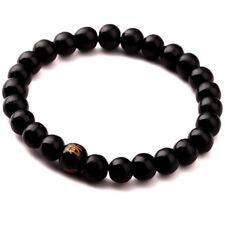 Men Tibetan Buddha Buddhist Wood Prayer Bead Mala Bracelet Bangle Wrist Ornament