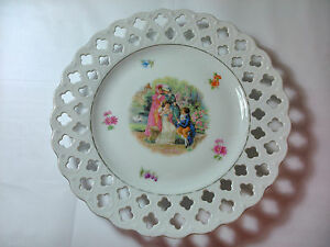 Decorative Plate IN Porcelain Germany, Image Age