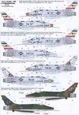 Xtra Decals 1/48 F-100D SUPER SABRE U.S.A.F. Part 2