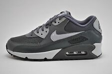 Womens Nike Air Max 90 Essential Running Shoes Sz 9.5 Grey Anthracite 616730 030