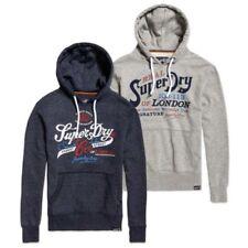 Sweats et vestes à capuches gris Superdry pour homme