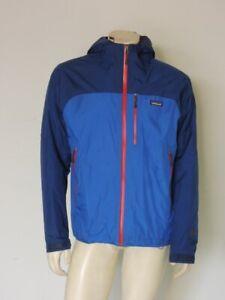 Patagonia Men's NANO STORM Jacket Waterproof Insulated Blue Size MEDIUM