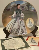 """Gone With the Wind Collector's Plate  """"The Country Walking Dress""""  Plate COA Box"""