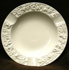 WEDGWOOD Etruria & Barleston Embossed Queen's Ware ASHTRAY Made in England White