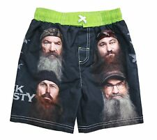 Duck Dynasty Boy's Size 5 UPF50 UV Protection Swim Shorts Trunks  NEW