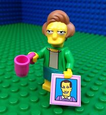 Lego 71009 The Simpsons Series 2 EDNA KRABAPPEL Apple Tile Minifig Minifigure
