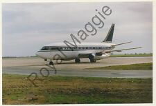 Colour print of Jet Airways Boeing 737 259 VR-BEG at Luton in 1989