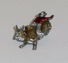 Rodeo Bull Rider Champion Collector's Lapel Pin - Jewelry