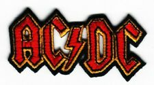 ACDC FABRIC PATCH MUSIC BAND ROCK BIKER SCOOTER
