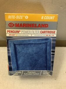 MarineLand 6-Pack, Size B, Rite-Size Cartridge Refills