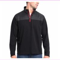 Eddie Bauer Mens Pullover Sweatshirt 1/4 Zip Big