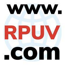Dominio COM de 4 letras  www.RPUV.com