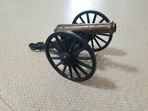 Vintage Cannon C 1/2  MF CO. Civil War Era Replica Brass Iron CE6