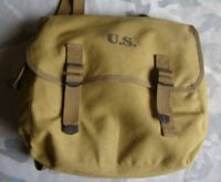 WW2 US MILITARY ARMY M1936 M36 TYPE MUSETTE FIELD CANVAS BAG BACK PACK HAVERSACK