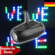64 LED RGBW Laser Projektor Lichteffekt Strahler Spot Lampe DJ Disko Bühnenlicht