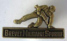 Brevet Militaire Sportif GS 128 bronze FAMAS