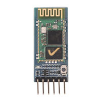 HC-05 Wireless Bluetooth RF Transceiver Module serial RS232 TTL for arduino Pf