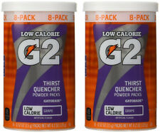 Gatorade G2 Low Calorie Powder Packs - Grape - 2 Canisters (16 packets)