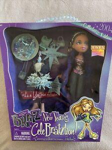 Bratz New Years CELEBRATZTION Yasmin Doll NRFB New Accessories Party Celebration