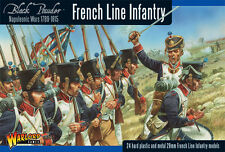 Warlord Games Polvo Negro BNIB French Line Infantry 1806-1810 (24) wgn-fr-09