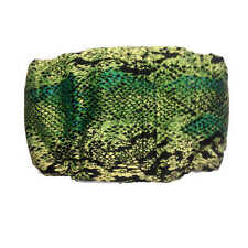 Male Dog Diaper - Made in USA - Green Snake Skin Washable Dog Belly Band Male...