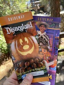 Disneyland 2021 Halloween Guide Maps