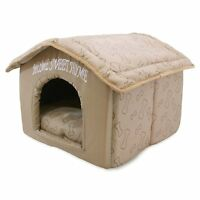 Indoor Pet House Kennel Portable Pet Bed  Kennel Cat Dogs Home Shelter Comfort