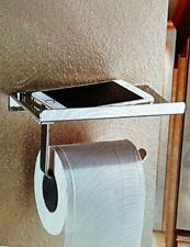 New! Toilet Paper Holder Shelf Stainless Steel Bathroom Tissue Mobile Devices!