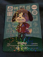 Digby #009 Animal Crossing Amiibo Card Authentic Never Scanned