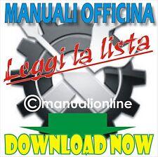MANUALE OFFICINA Honda Varadero XL 1000 V ( 2003 - 2012 ) Italian service manual