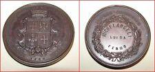 Esposizione agricola industriale di Fermo anno 1869 medaglia