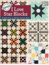 Block-Buster Quilts: I Love Star Blocks compiled by Karen M Burns