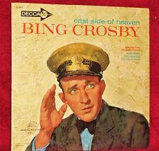 LP BING'S HOLLYWOOD EAST SIDE OF HEAVEN BING CROSBY 1962 DECCA SEALED