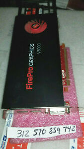 Dell AMD FirePro V5900 2GB GDDR5 Dual DP/DVI-I PCI-E Video Card 05DRVJ