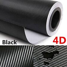 4D Waterproof Carbon Fiber Vinyl Car Wrap Sheet Roll Film Sticker Decal Paper