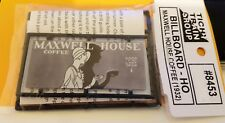 Tichy Trains***** MAXWELL HOUSE COFFEE BILLBOARD ****** HO Model trains