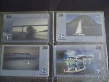 VICTORIA CITY 448 YEARS 1999 (2) Set of 4 Different Phone Cards from Brazil